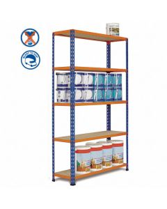 Metal Point 2 Shelving for medium and light duty