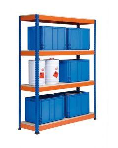 Metal Point PLUS Shelving for medium/heavy duty loads